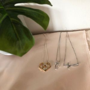 """Jewelry - ❈ Cross and """"God"""" Necklaces"""
